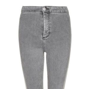 Grey topshop Joni jeans